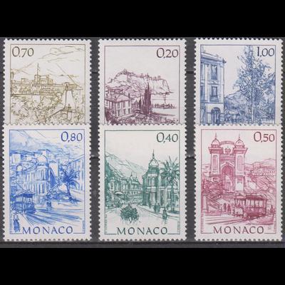 Monaco - Autrefois - yt.1762/67 neufs ** - Cote €2.60