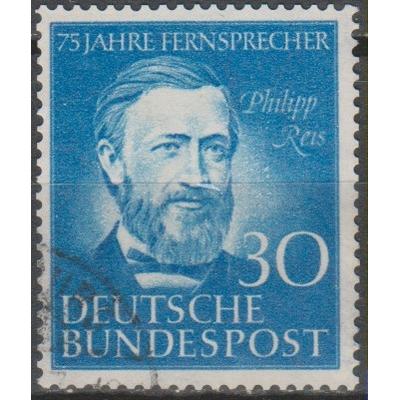 Allemagne - Téléphone - yt.46 oblitéré - Cote €22