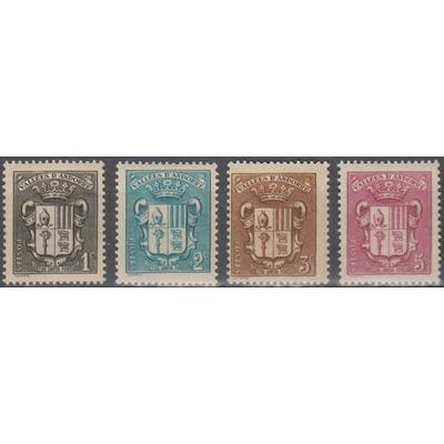 Andorre - Armoiries - yt.47/50 neufs ** - Cote €2