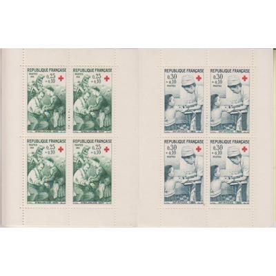 France - Carnet Croix Rouge 1966 neuf ** - Cote €8
