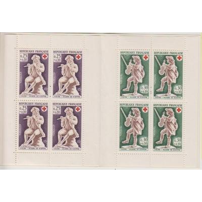 France - Carnet Croix Rouge 1967 neuf ** - Cote €8