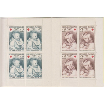 France - Carnet Croix Rouge 1965 neuf ** - Cote €8