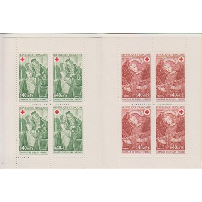 France - Carnet Croix Rouge 1970 neuf ** - Cote €16