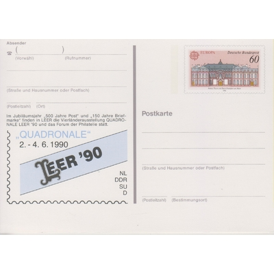 Allemagne - Entier postal Europa neuf **