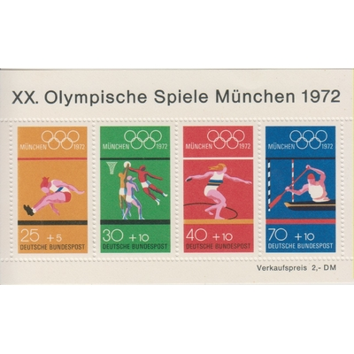 Allemagne - Jeux Olympiques - Yvert BF7 neuf ** - Cote €10