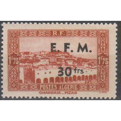 Algérie - Timbre télégraphe - yt.2 neuf ** - Cote €1.20