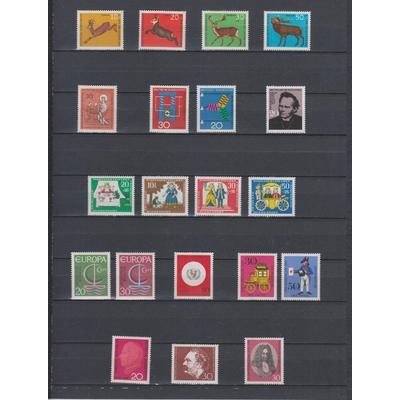 Allemagne - Sélection d'émissions de l'année 1966 neuves** - Cote €8