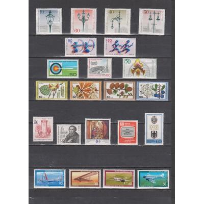 Berlin - Collection de toutes les émissions commémoratives de 1979 neuves ** - Cote €33