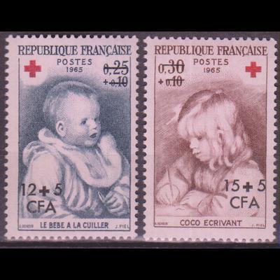 Réunion - Croix Rouge - yt.366/67 neufs ** - Cote €3.60