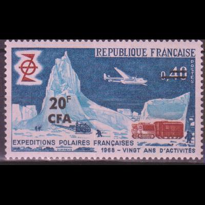 Réunion - Expédition - yt.380 neuf ** - Cote €1.70