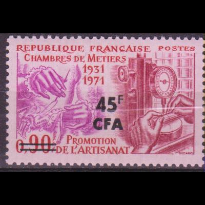 Réunion - Métiers - yt.398 neuf ** - Cote €1.60