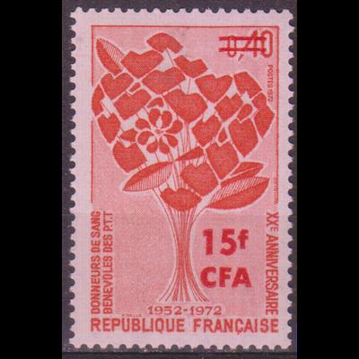 Réunion - Don sang - yt.409 neuf ** - Cote €1.30