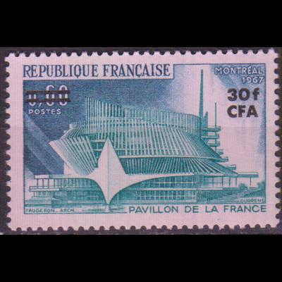 Réunion - Montréal - yt.376 neuf ** - Cote €2.70