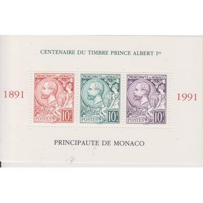 Monaco - Albert 1er - yt.BF53 neuf ** - Cote €14.75