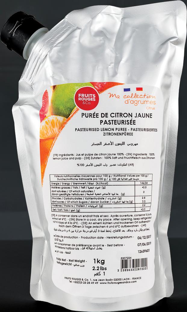 Purée de Fruits (Citrons)