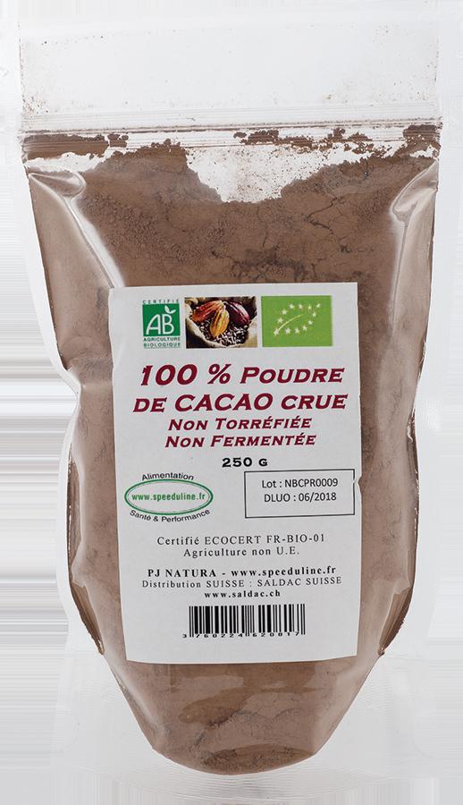 Poudre de Cacao cru dégraissé BIO