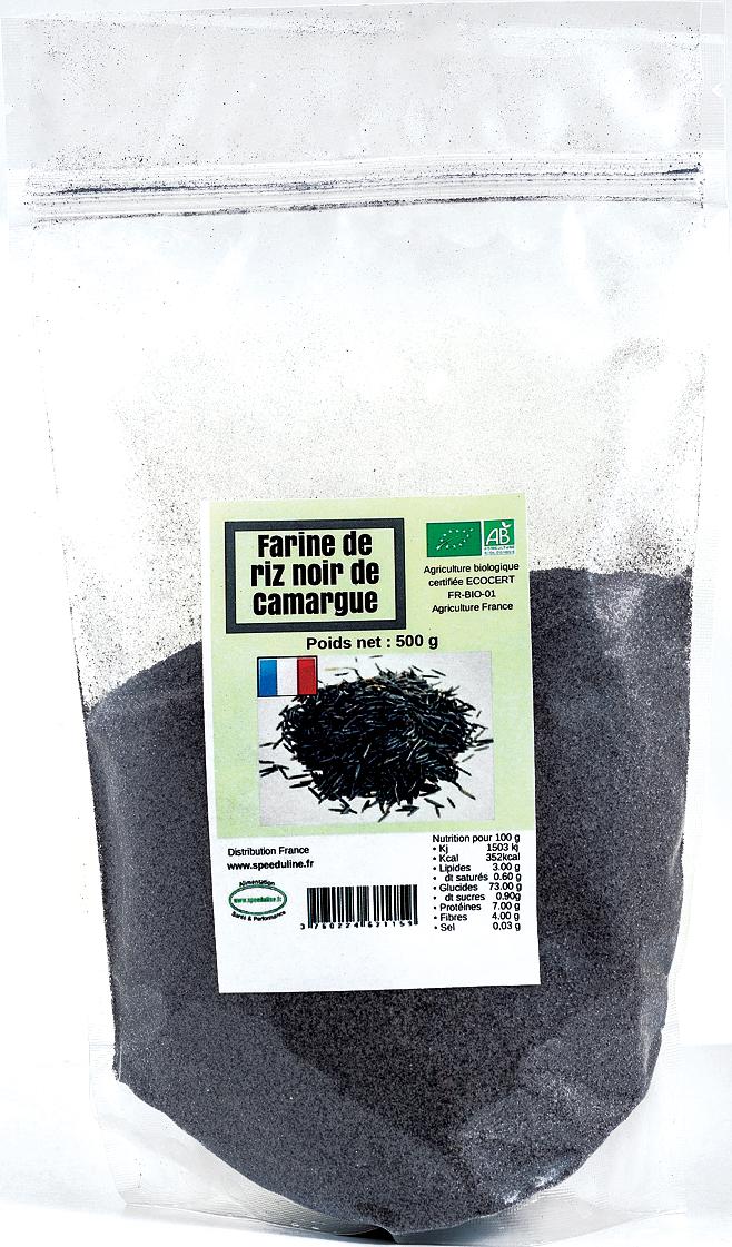 Farine de Riz Noir de Camargue