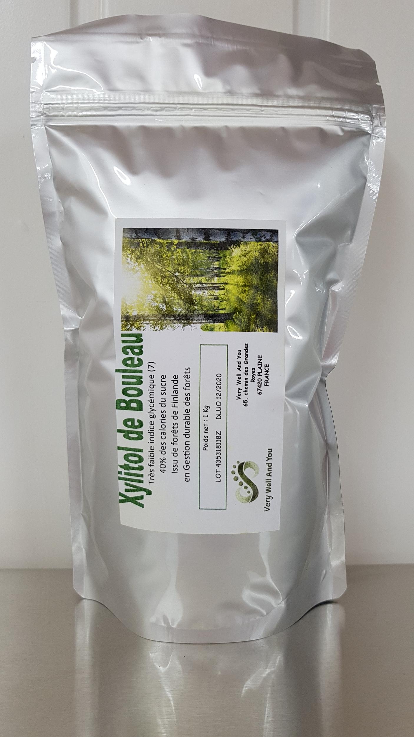 Xylitol de Bouleau de Finlande végétal et naturel