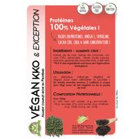 Protéines Vegan NKO