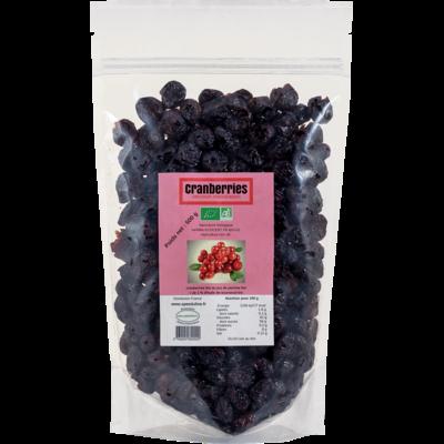 Cranberries séchées BIO