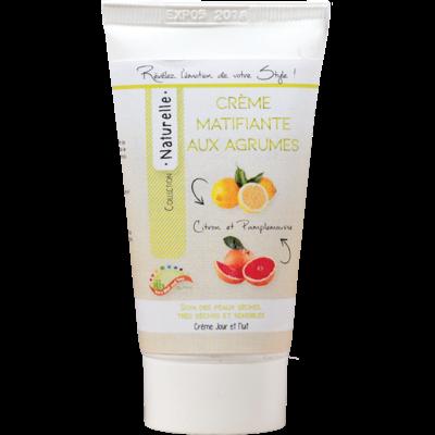 Crème Matifiante aux Agrumes