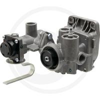 10-002 Haldex Soupape de freinage pour remorques double circuit,  avec régulateur de freinage, avec avance (réglable), M22 x 1,5 mmHALDEX Soupape de freinage 350027002  971 002 570 0, AS7000
