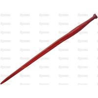 21-040 Dent de fourche   Cranked 810mm, Filetage: M22 x 1.5