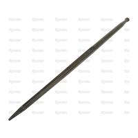 21-497  Dent de fourche   Droite 1,100mm, Filetage: M22 x 1.5