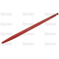 21-002  Dent de fourche   Droite 1,100mm, Filetage: M20 x 1.5