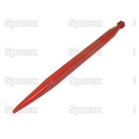21-012  Dent de fourche   Droite 680mm, Filetage: M20 x 1.5