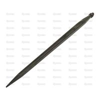 21-499  Dent de fourche   Droite 810mm, Filetage: M22 x 1.5