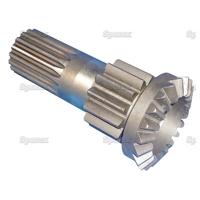 8-001 Arbre avec blocage pignon droit de différentiel