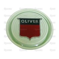 """9-617 Cache écrou de volant de direction manuelle, vert""""Oliver"""""""