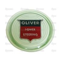 """9-618 Cache écrou de volant de direction assistée, vert """"Oliver"""""""