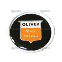 """9-620 Cache écrou de volant de direction assistée, noir""""Oliver"""""""