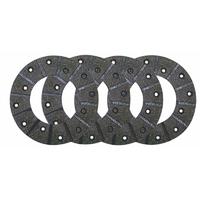 Jeu de garnitures de frein  583331, 3134667R2  Ø 165 mm, avec rivets 5 x 12 mm épaisseur 5 mm