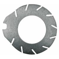 Disque de frein métallique  (à pied)  411040