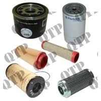 Kit de Filtres pour Massey Ferguson Types : 5425, 5435, 5445, 5455, 5460, 5465, 5470, 5480