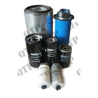 Kit de Filtres pour  Ford New Holland Types :TM120, TM130, TM140, TM115, TM150