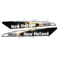 AUTOCOLLANT NEW HOLLAND TM120 - NOIR