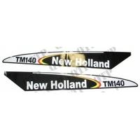 AUTOCOLLANT NEW HOLLAND TM140 - NOIR