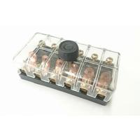14-559 Boîte à fusibles 6 voies 6/12 volts
