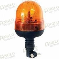 14-618 Broche flexible pour ampoule de balise 12 / 24V (Reg. ECE 65 / IP 55)