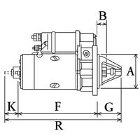 2-Démarreur 307  Spécifications électriques Voltage12 KW3.2