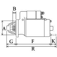 2-Démarreur 308  Spécifications électriques Voltage12 KW3.2