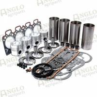 12-041 Kit de révision de moteur - A4.248 - Revêtement fini (sans anneau de flamme) OEM3638585M91...