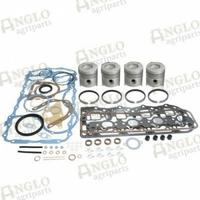 12-246 Kit de révision de moteur - Ford 5000/5600 - Moins revêtements