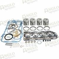 12-299 Kit de révision de moteur - Ford 6410/6610/6710 - Moins de revêtements