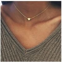 Collier en Or 6 carats Coeur
