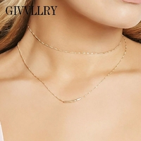 Collier Or Jaune Ginna Baguette